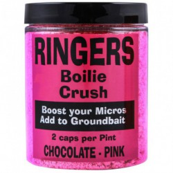 Ringers Boilie Crush Chocolate - Pink