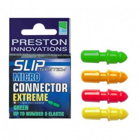 Preston Yellow Slip Micro Extreme Connectors