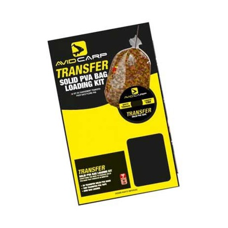Avid Carp Transfer Bag Loading Small Kit