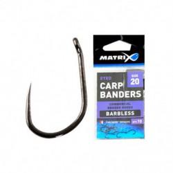 Matrix Size 20 Carp Banders Barbless