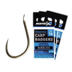 Matrix Size 16 Carp Baggers Barbless