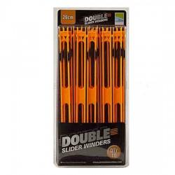 Preston 10 x 26 cm Orange Double Slider Winders