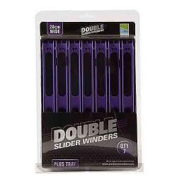 Preston 10 x 26 cm Wide Purple Double Slider Winders