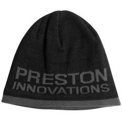 Preston Black - Grey Beanie Hat