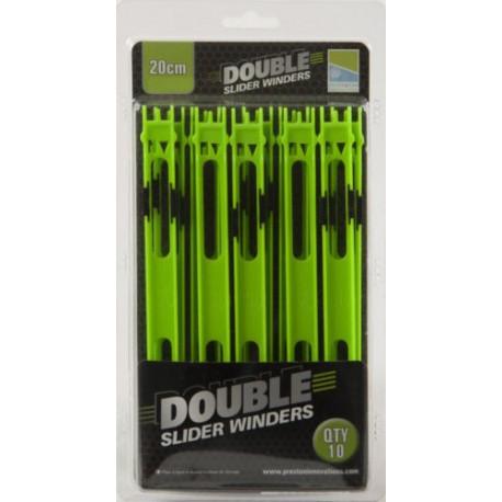 Preston 20 cm Green Double Slider Winders