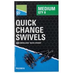 Preston Small Quick Change Swivels