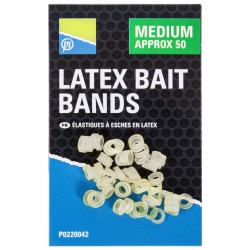 Preston Medium Latex Bait Bands