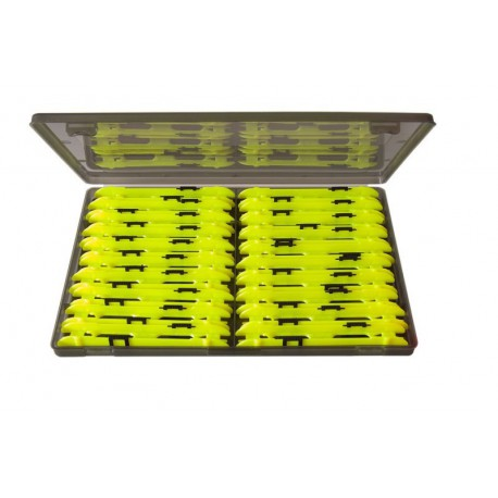 Preston 20 x 13 cm Geel Double Winder Box