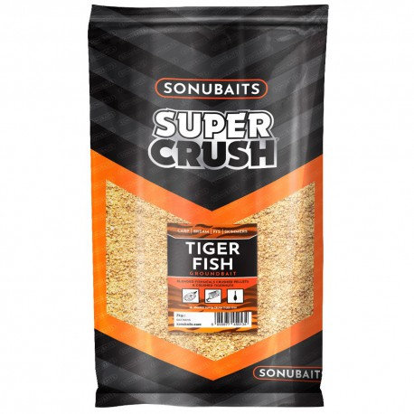 Sonubaits Supercrush Tiger Fish Grondvoer