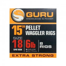 Guru Bait Band - Pellet Wagglers Ready Rig 15'' Size 18