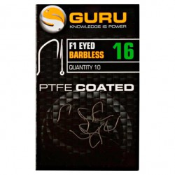 Guru Size 16 F1 Eyed Barbless Hook
