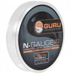 Guru 2.0 lb - 0.10 mm N-Gauge Pro Line