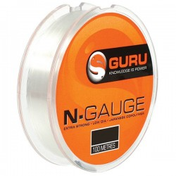 Guru 12 lb - 0.25 mm N-Gauge Lines