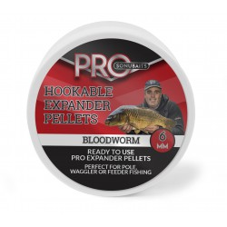 Sonubaits PRO Hookable Expander Pellets Bloodworm 6mm NEW