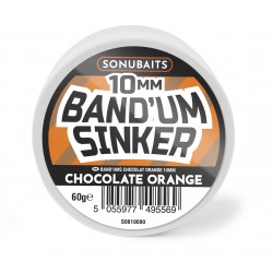 Sonubaits Band' Um Sinker Chocolate & Orange 10mm