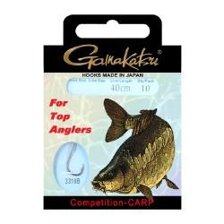 Gamakatsu Competition Carp LS-3310 0.14 mm – 40 cm - Size: 14 Onderlijnboekje