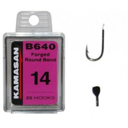 Kamasan B640 Forged Round Bled Barbed Size 10