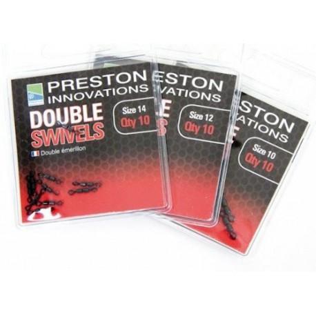 Preston Double Swivels Size 10