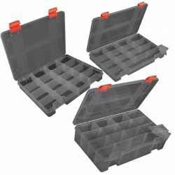 Fox Rage Stack N Store 16 Compartment Shallow Large