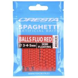 Spro – Cresta Spaghetti Balls Fluo Red