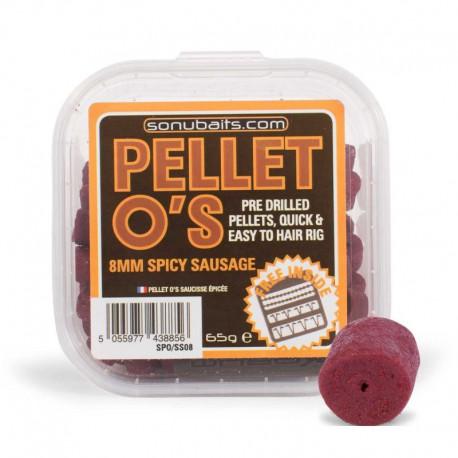 Sonubaits 8 mm Spicy Sausage Pellets O'S