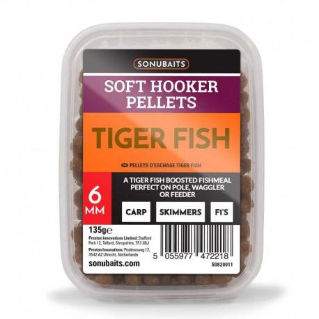 Sonubaits Tiger Fish Soft Hooker Pellets 4mm