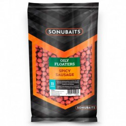 Sonubaits 11 mm Oily Floaters Spicy Sausage