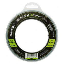 Matrix Horizon X Tapered Shock Leader 0.22 to 0.28 mm