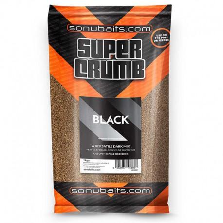Sonubaits Super Crumb Black Grondvoer