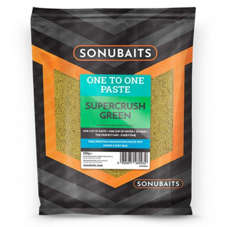 Sonubaits One To One Paste Supercruch Green