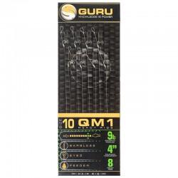 Guru Size 12 QM1 Standard Hair Rigs 4''