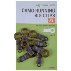 Korum X Large Camo Running Rig Clips