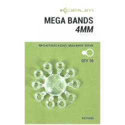 Korum 4 mm Mega Bands