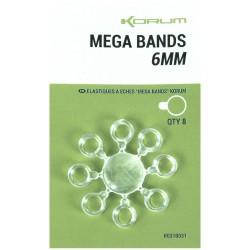 Korum 6 mm Mega Bands