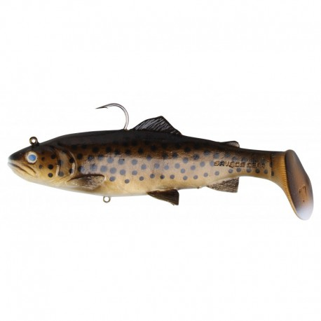 Savagear 3D Trout Rattle Shad 20.5 cm Dark Brown Trout