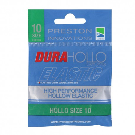 Preston Size 10 Dura Hollo Elastic Green