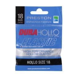 Preston Size 18 Dura Hollo Elastic Black