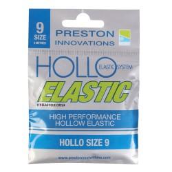 Preston Size 9 Hollo Elastic Light Blue