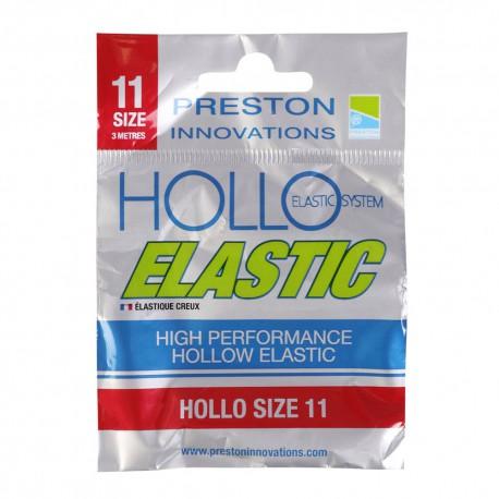 Preston Size 11 Hollo Elastic Red