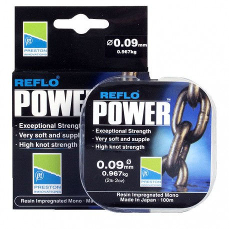 Preston 0.24 mm Reflo Power Line