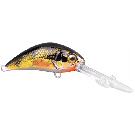 Spro Ikiru DD Baby Crank 40F Chrome Yellow Perch