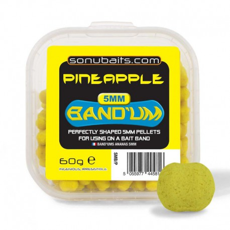 Sonubaits 5 mm Band'ums Pineappel