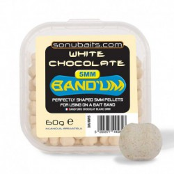 Sonubaits 5 mm Band'ums White Chocolate
