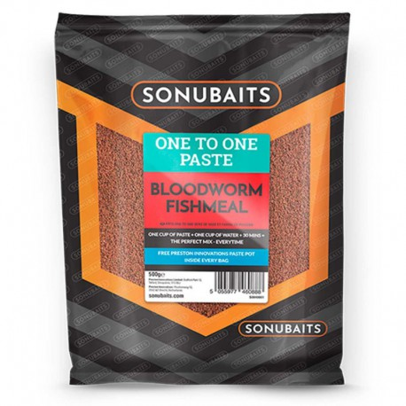 Sonubaits One To One Paste Bloodworm