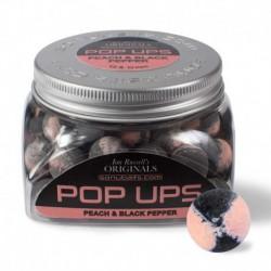 Sonubaits Peach & Black Pepper Ian Russel's Original Pop-ups