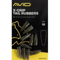 Avid Carp X Grip Tail Rubbers