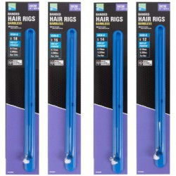 "Preston KKM-B Mag Store Hair Rigs 15"" - 38 cm Banded Size 12"