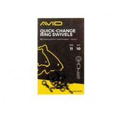 Avid Carp Ring Swivels Size 11