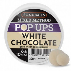 Sonubaits White Chocolade Mixed Method Pop Ups